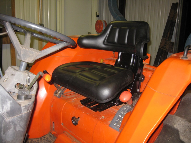 Metal Tractor Seat Replacement : Replacement suspension seat for l