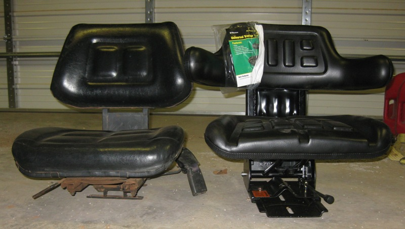Ls Tractor Seat Replacements : Replacement suspension seat for l