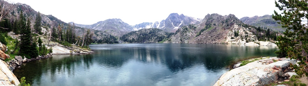 Pine Creek Lake Panoramic